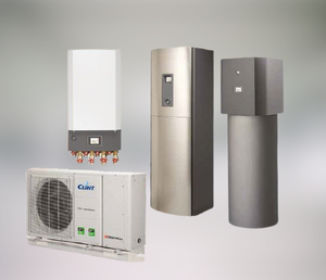 THERMICA SYSTEM. MONOBLOCK DEDICATED HEAT PUMPS AND DISTRIBUTION MODULE FOR domestic HOT WATER PRODUCTION UP TO 55 °C.