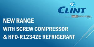 NEW RANGE WITH SCREW COMPRESSOR & HFO-R1234ze REFRIGERANT